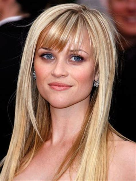 how to cut reese witherspoon bangs best bangs reese witherspoon hair pinterest