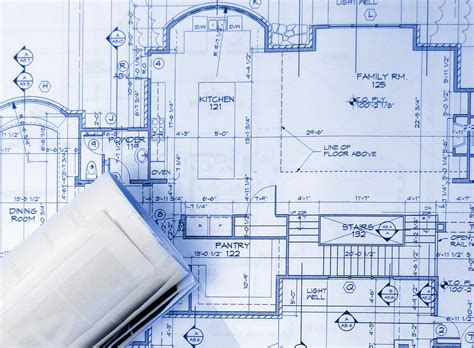 building blueprint building a house home designer