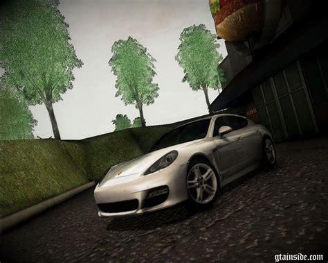 Porsche Z Antrag by Gta San Andreas Porsche Panamera Turbo Tunable Mod