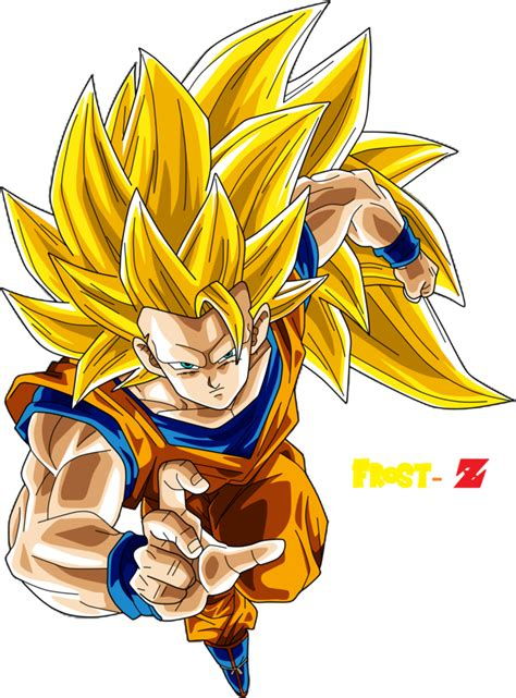 imagenes de dbz goku ssj 3 goku super saiyan 3 by frost z on deviantart