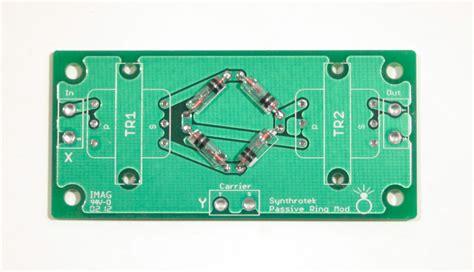 diode ring modulator definition passive ring modulator assembly synthrotek