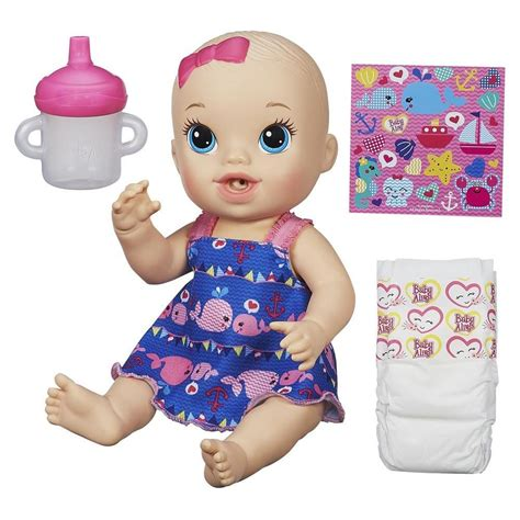 baby alive baby alive sips n cuddles nautical toys