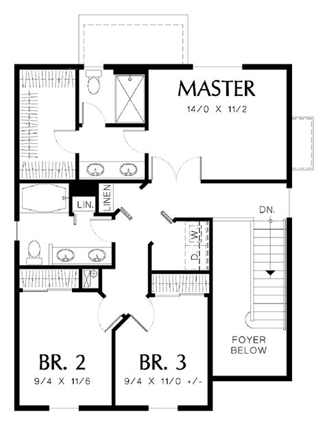 654350 3 Bedroom 2 Bath House Plan House Plans Floor Plans Three Bedroomed House Plan