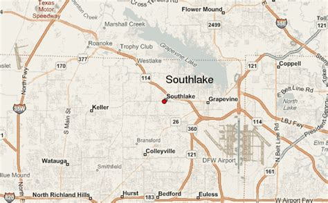 map of southlake texas southlake location guide