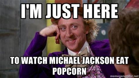 Popcorn Meme - image 895832 michael jackson eating popcorn know