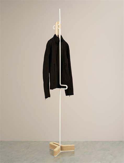laundry hanger design hc hanger a simple clothes coat rack design milk