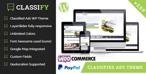 themeforest classified theme classify v2 5 9 classified ads wordpress theme free