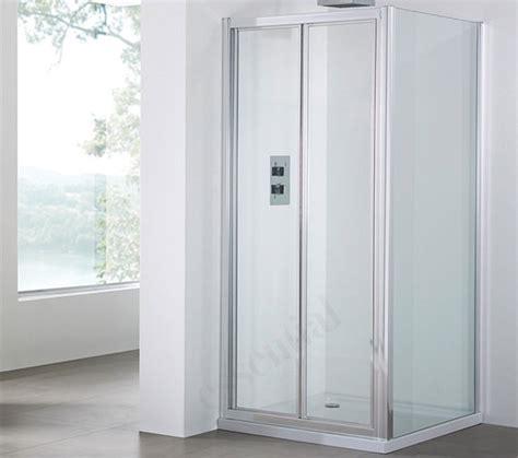 Bi Fold Shower Doors 800mm April Destini 800mm Bi Fold Shower Door Ap9316s