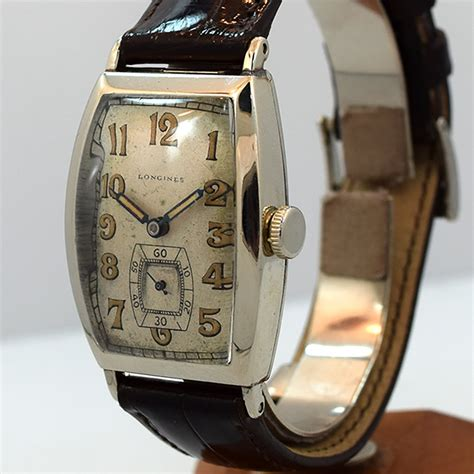 second time around vintage 1927 longines white gold