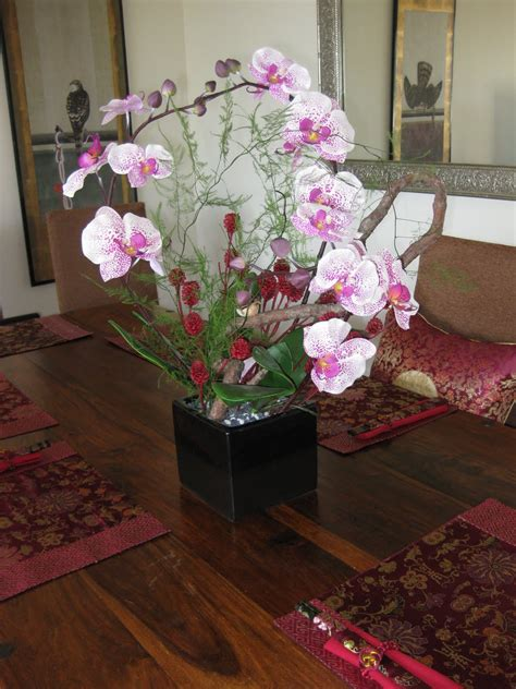silk flower arrangements for dining room table new silk flower arrangement on dining room table 8