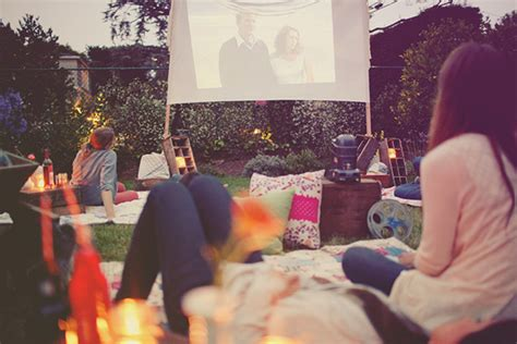 backyard movie night backyard movie night inspiration the sweetest occasion