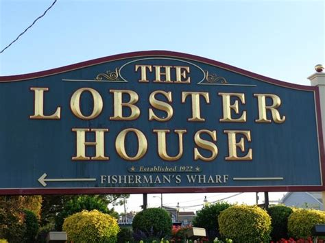 The Lobster House Cape May by Sign Picture Of The Lobster House Cape May Tripadvisor