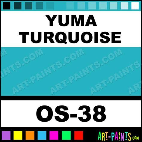 yuma turquoise one stroke translucent ceramic paints os 38 yuma turquoise paint yuma