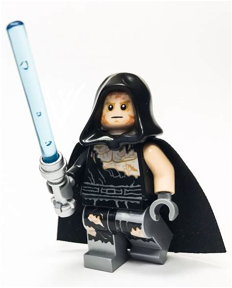 Lego 75183 Darth Vader Transformation Anakin Skywalker Minifigure Lego Wars Minifigure Anakin Transformation Darth