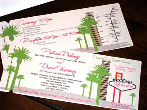 boarding las vegas boarding pass wedding invitations boarding pass save the date