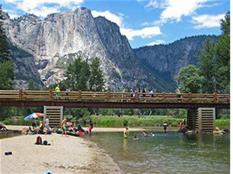 yosemite swinging bridge yosemite valley free shuttle bus mary donahue