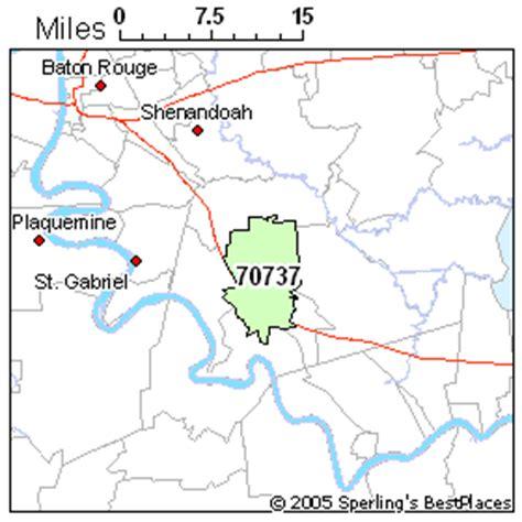 louisiana map gonzales best place to live in gonzales zip 70737 louisiana