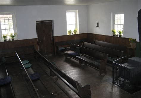Friends Interior by Centre Meeting And Schoolhouse