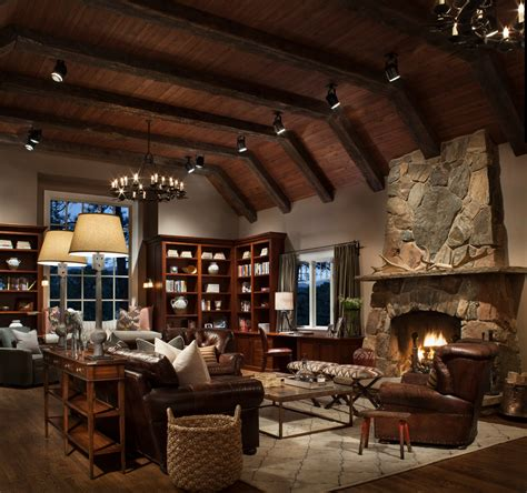 16 sophisticated rustic living room designs you won t turn