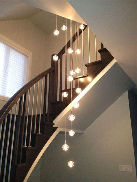 Stairwell Pendant Lights 17 Best Ideas About Globe Pendant Light On Kitchen Countertops Gray Kitchen
