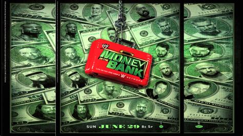 WWE Money In The Bank 2014 Official Poster   YouTube