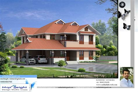 house models and plans in india kerala house model seaside kerala home design