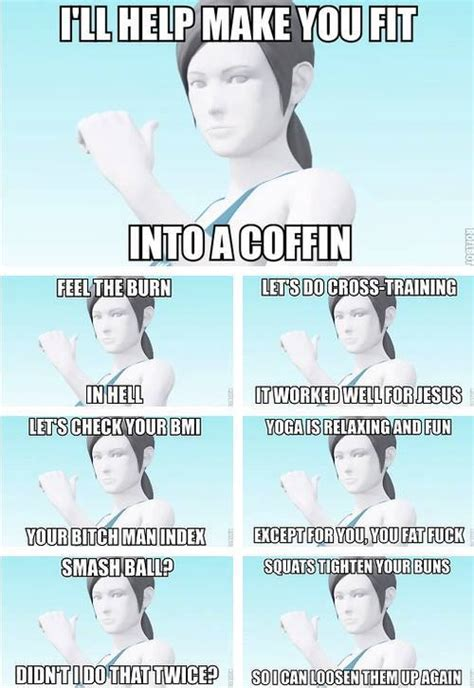 Wii Fit Trainer Meme - super smash bros 4 wii u 3ds page 9