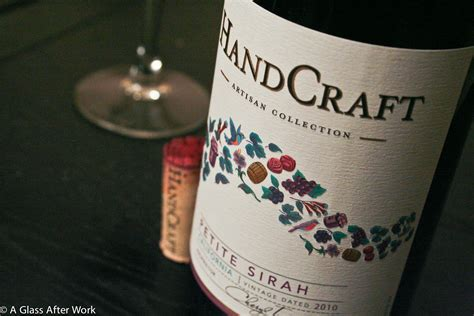 Handcraft Sirah - nothing small about handcraft s sirah a glass