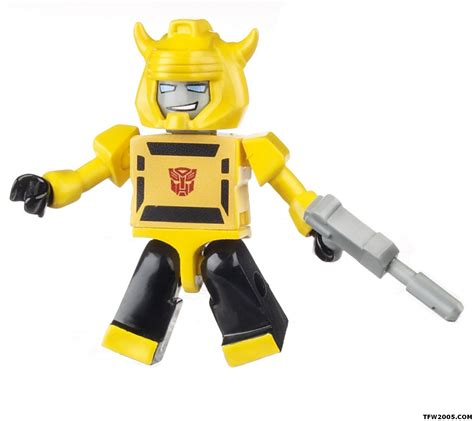 Micro Block Transformer Bumble Bee will g i joe come to in hasbro s new kre o building