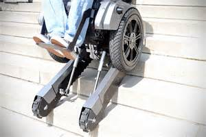Wheelchair Stair by Thanks To Scalevo Stairs Will Cease To Be An Obstacle To