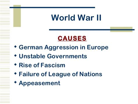 chapter 32 section 5 two world wars world war ii power point