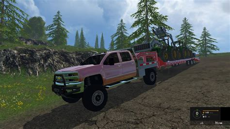 game hd mod 2015 chevy silverado 3500hd car v1 0 farming simulator 2017