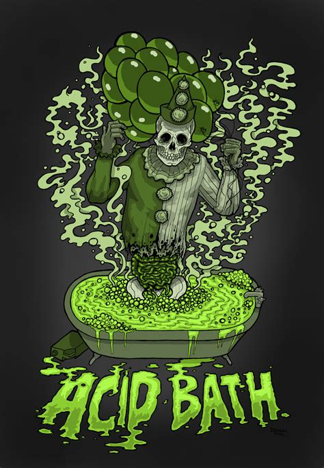 bathroom acid acid bath poster by dquinn89 on deviantart