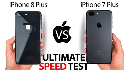 iphone 8 plus vs 7 plus the ultimate speed test