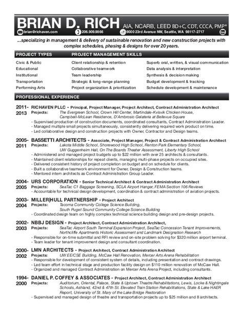 brian rich s resume portfolio