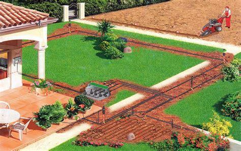 impianti di irrigazione per giardini foto impianti di irrigazione per giardini con progetto e