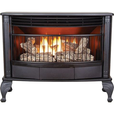 shop cedar ridge hearth 1 000 sq ft dual burner vent free