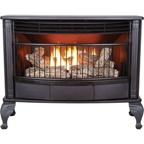 Home Depot Gas Heaters Ventless by Shop Cedar Ridge Hearth 1 000 Sq Ft Dual Burner Vent Free
