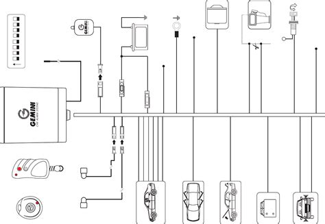 gemini alarm system wiring diagram gallery diagram