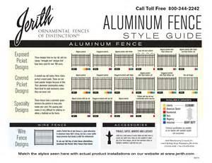 Home Design Express Llc jerith aluminum fence