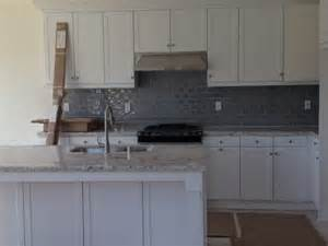 gray glass tile kitchen backsplash gray kitchen backsplash advise with wall colors