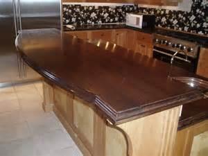 Cherry Wood Bar Top Raised Wood Bar Top In A Wine Room Custom