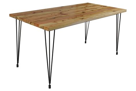 Hairpin Dining Table Workshop Small Hairpin Dining Table At Gardner White