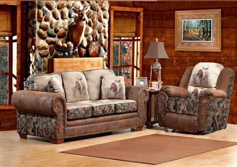 Camo Living Room Set Camo Furniture Camo Pinterest Home Living Rooms And Leather