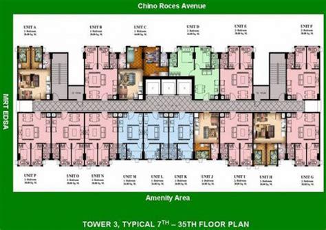 condominium plans condo sale at san lorenzo place condos floor plans