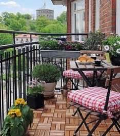 Balcony decor on pinterest balconies small balconies and small