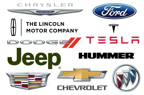 car brand the most popular american car brands car brand names com