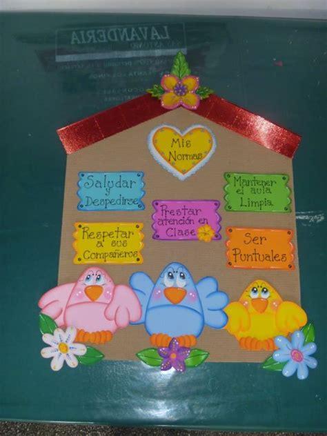 cartel de aula hora del cartel de las normas del aula educandoando