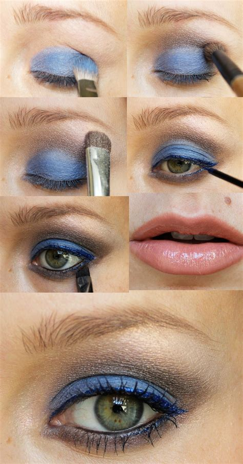 review tutorial lipstik 2012 holiday party makeup look blue christmas citizens