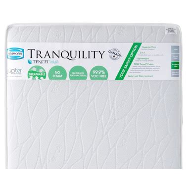 simmons 2 in 1 crib mattress buy simmons tranquility crib mattress at well ca free